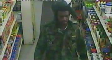 The attached photo was captured on a surveillance system of a nearby mini-market. By Lakisha Jackson