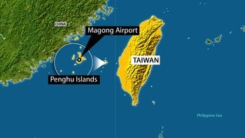 As many as 45 people are feared dead after a TransAsia Airways passenger plane crashed on one of Taiwan's Penghu islands Wednesday, July 23, 2014, Taiwan's Central News Agency reported. By n/a