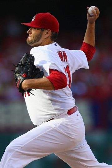 ST. LOUIS, MO - JULY 23: Starter Lance Lynn #31 of the St. Louis Cardinals pitches against the Tampa Bay Rays in the first inning at Busch Stadium on July 23, 2014 in St. Louis, Missouri. (Photo by Dilip Vishwanat/Getty Images) By Dilip Vishwanat