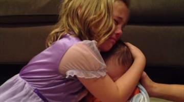 Five-year-old Sadie is not looking forward to her younger brother growing up. By Stephanie Baumer