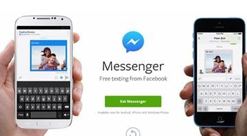 Mobile users who want to message friends will have to download the Messenger app in addition to the core Facebook app. By Stephanie Baumer