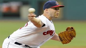 CLEVELAND, OH - JULY 7: Starter Justin Masterson #63 of the Cleveland Indians pitches during the first inning against the New York Yankees at Progressive Field on July 7, 2014 in Cleveland, Ohio.  (Photo by Jason Miller/Getty Images) By Jason Miller