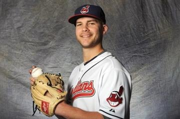 GOODYEAR, AZ - FEBRUARY 28:  Justin Masterson #63 of the Cleveland Indians poses for a portrait during a photo day at Goodyear Ballpark on February 28, 2012 in Goodyear, Arizona. (Photo by Rich Pilling/Getty Images) By Rich Pilling