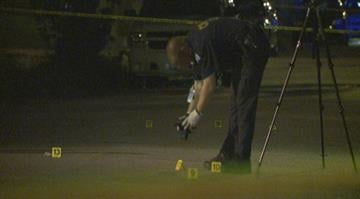 Authorities are investigating after a woman was killed by a bullet in North City Wednesday night. By Stephanie Baumer