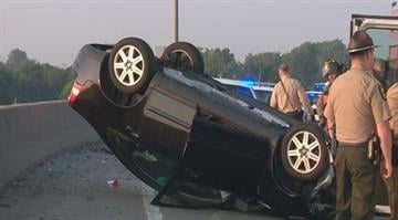 The driver of a vehicle was taken to an area hospital after a single vehicle crash Saturday morning in St. Clair County. By Stephanie Baumer