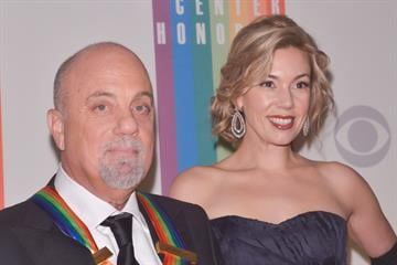 WASHINGTON, DC - DECEMBER 8:  Billy Joel Alexis Roderick pose on the red carpet during the The 36th Kennedy Center Honors gala at the Kennedy Center on December 8, 2013 in Washington, DC.   (Photo by Kris Connor/Getty Images) By Kris Connor
