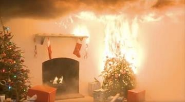 Dry Christmas trees can go up in flames in a matter of seconds. By CPSC
