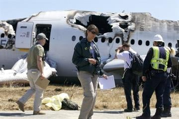 Probe points to pilot who crash-landed in San Francisco.  Investigators say the captain was ill-prepared to land the Asiana jet that ultimately crashed, killing 3 people and injuring over 200. By Handout