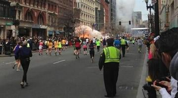 Explosions at Boston Marathon leave 3 dead and hundreds injured By Brendan Marks