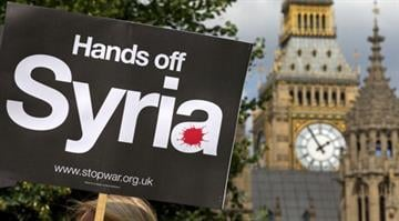 British Prime Minister loses Syria war vote.  The stunning defeat in Parliament will almost guarantee that Britain plays no direct role in a possible U.S. attack. By AFP