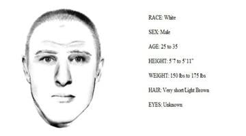 Composite sketch released by St. Louis County Police Department of a suspect wanted in connection with an attempted abduction in the Affton Area. By Alexander Schuster