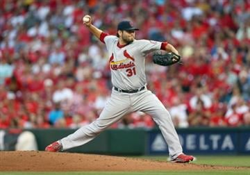 CINCINNATI, OH - SEPTEMBER 05:  Lance Lynn #31 of the St. Louis Cardinals throws a pitch during the game against the Cincinnati Reds at Great American Ball Park on September 5, 2013 in Cincinnati, Ohio.  (Photo by Andy Lyons/Getty Images) By Andy Lyons