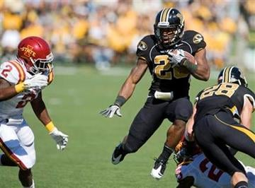 Missouri running back Henry Josey, only compiled 26 rushing yards on 9 carries, but he scored twice. (AP Photo/L.G. Patterson) By L.G. Patterson