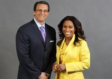 News 4's Steve Savard and Sharon Reed By Bryce Moore