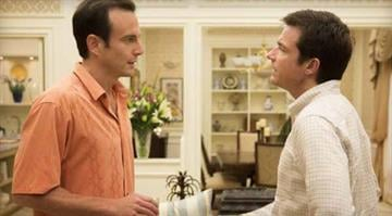 """This undated publicity photo released by Netflix shows Will Arnett, left, and Jason Bateman in a scene from """"Arrested Development."""" / AP Photo/Netflix By Dan Mueller"""