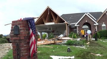 The National Weather Service confirms three tornadoes were part of the Friday night storm that raked portions of the St. Louis area, damaging hundreds of homes but causing no serious injuries. By Brendan Marks