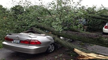 The National Weather Service confirms three tornadoes were part of the Friday night storm that raked portions of the St. Louis area, damaging hundreds of homes but causing no serious injuries. By Sarah Heath