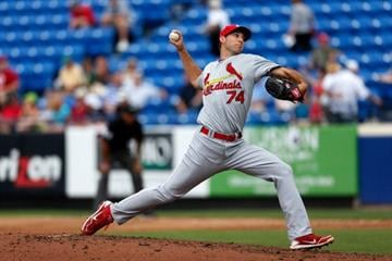 PORT ST. LUCIE, FL - FEBRUARY 27:  ARY 27: Michael Wacha #74 of the St. Louis Cardinals pitches against the New York Mets at Tradition Field on February 27, 2013 in Port St. Lucie, Florida.  (Photo by Chris Trotman/Getty Images) By Chris Trotman