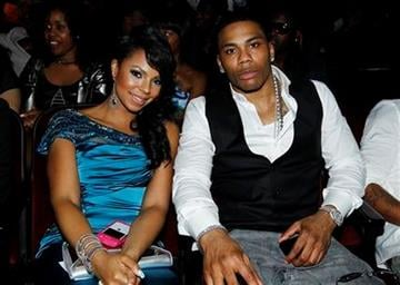 Ashanti, left, and Nelly are seen at the BET Awards on Sunday, June 26, 2011, in Los Angeles. (AP Photo/Matt Sayles) By Matt Sayles