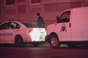 A driver was shot in the head early Wednesday morning at Maple and Hamilton.  According to witnesses two men in a car pulled up to the victim's car, asked for directions, then shot him.