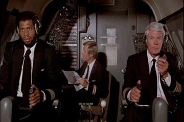 """This undated handout photo provided by the Library of Congress shows a scene from the movie """"Airplane."""" The film is one 25 selections to the 2010 National Film Registry. (AP Photo/Library of Congress) By KMOV Web Producer"""
