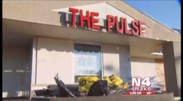 This imae shows The Pulse, a nightclub on North Broadway in north St. Louis, where teens were shot on Christmas. Two teens eventually died from their  gunshot wounds.