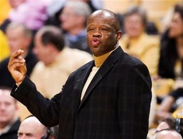 Missouri head coach Mike Anderson calls a play during the second half of an NCAA college basketball game against North Alabama Wednesday, Jan. 5, 2011, in Columbia, Mo. Missouri won the game 98-58.  (AP Photo/L.G. Patterson) By L.G. Patterson