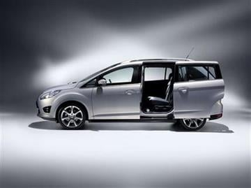 In this product image provided by the Ford Motor Co., the new C-Max small minivan is displayed. (AP Photo/Ford Motor Co.) By Ford