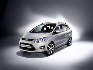 In this product image provided by the Ford Motor Co., the new C-Max small minivan is displayed. (AP Photo/Ford Motor Co.) ** NO SALES ** By Ford