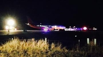 Southwest Airlines Flight 4013 lands at wrong airport in Branson. By KOLR