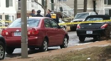 Police say a man was shot in the leg in south St. Louis on Thursday. By Brendan Marks