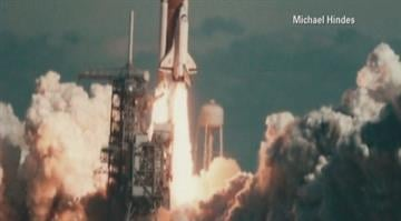 Michael Hindes found the pictures of the space shuttle Challenger while going through boxes of his grandparents' old photographs. By Brendan Marks