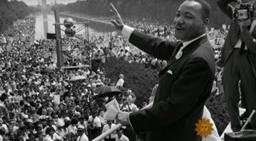 America remembers MLK Jr.  The national conversation centers on how far the country has come in the past 50 years -- and how much more might be done. By Brendan Marks