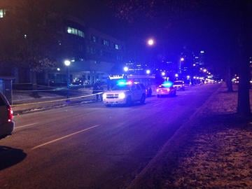 (KMOV)--- Police are searching for a man and woman after another man was shot and killed at a bus stop in a Central West End neighborhood Tuesday night. By Sarah Heath
