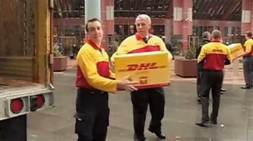 Illinois Gov. Quinn will join officials with the group and DHL Express on Wednesday to pack up pizzas for the trip. By Belo Content KMOV