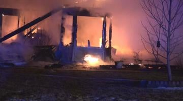 (KMOV.com) – A Jersey County is destroyed following a fire early Thursday morning. By Stephanie Baumer
