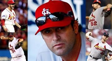 Manager Mike Matheny will have a tough decision when trying to form his starting rotation for the 2014 season. By Elizabeth Eisele
