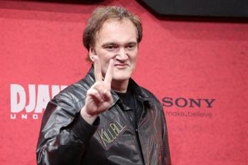 BERLIN, GERMANY - JANUARY 08:  Quentin Tarantino attends 'Django Unchained' Berlin Premiere at Cinestar Potsdamer Platz on January 8, 2013 in Berlin, Germany.  (Photo by Sean Gallup/Getty Images for Sony Pictures) By Sean Gallup