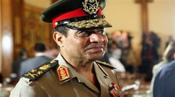 Egypt's army chief weighs candidacy.  A presidential run by el-Sissi would be a new twist in the tumult that began with the 2011 revolt against ex-President Mubarak. By Carlos Otero