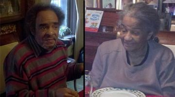 Thomas McKinney (Left) and Dorothy Jones (Right) were killed when their north St. Louis home caught fire Monday night. By Sarah Heath