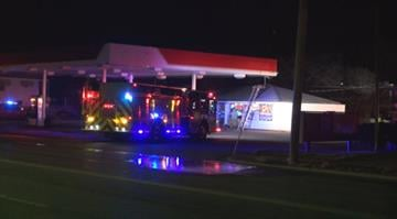 (KMOV.com) – Firefighters responded to a call for smoldering debris at a South County gas station Tuesday morning. By Stephanie Baumer