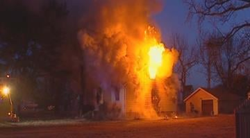 Firefighters responded to 203 Judith Ln. around 6:30 a.m. and found a home engulfed in flames. By Brendan Marks
