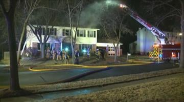 (KMOV.com) – Firefighters responded to a 3-alarm fire early Wednesday morning in St. Louis County. By Stephanie Baumer