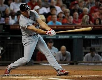 St. Louis Cardinals' Lance Berkman swings for strike three in the first inning of a baseball game against the Houston Astros, Thursday, June 9, 2011, in Houston. (AP Photo/Pat Sullivan) By Pat Sullivan