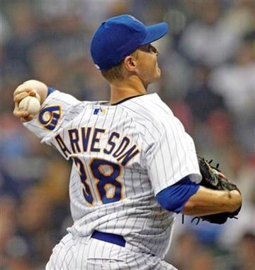 Milwaukee Brewers' starting pitcher Chris Narveson throws against the St. Louis Cardinals in the seventh inning of a baseball game on Friday, June 10, 2011, in Milwaukee. (AP Photo/Jeffrey Phelps) By Jeffrey Phelps