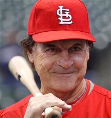 St. Louis Cardinals manager Tony La Russa watches batting practice before their game against the Milwaukee Brewers, Friday, June 10, 2011, in Milwaukee. (AP Photo/Jeffrey Phelps) By Jeffrey Phelps