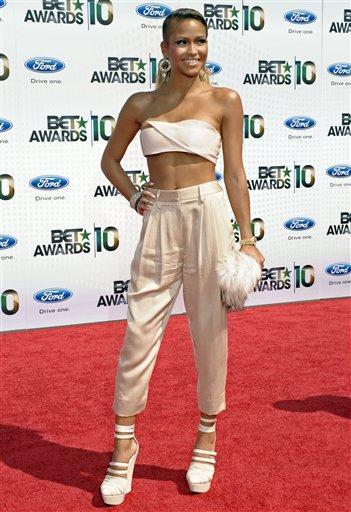 Casandra Ventura arrives at the BET Awards on Sunday, June 27, 2010 in Los Angeles. (AP Photo/Dan Steinberg) By Dan Steinberg