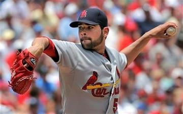St. Louis Cardinals pitcher Jaime Garcia throws during the first inning of a baseball game against the Kansas City Royals, Sunday, June 27, 2010, in Kansas City, Mo. (AP Photo/ReedHoffmann) By Reed Hoffmann