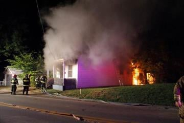 This photo of a house fire in Lemay was captured by KMOV.com user ben_mazanec. By Afton Spriggs