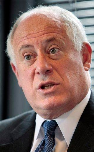Illinois Gov. Pat Quinn speaks during an interview with The Associated Press Monday, Oct. 4, 2010 in Chicago. The Chicago Democrat will be running against Republican gubernatorial candidate Bill Brady on Nov. 2. (AP Photo/Kiichiro Sato) By Kiichiro Sato